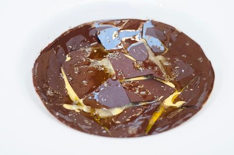 Rottura fra confine dolce e salato: Melanzana e Cioccolato, Sale, Origano.