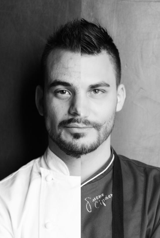 Cena a 4 mani Matteo Lorenzini e Simone Cipriani uniti in un unico menù...